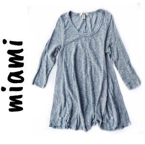 Miami • 3/4 Sleeve Knit Tunic